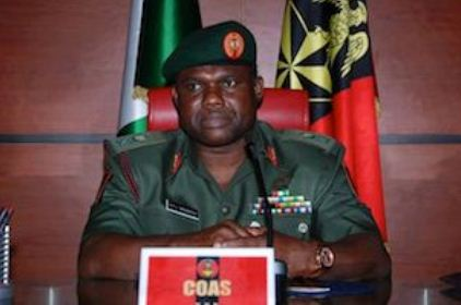 Nigerian Army Chief Calls For Patience As Forces Fight Insurgency