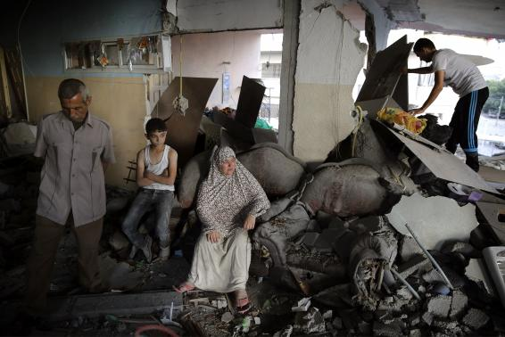 Hamas And Israel Resume Hostilities After Humanitarian Cease Fire