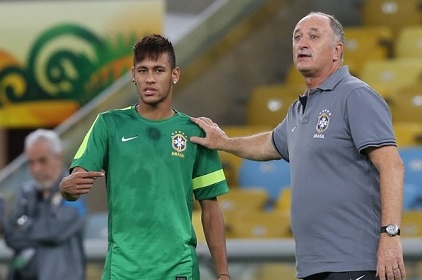 Neymar Praises Coach Scolari For Hiring A Psycologist