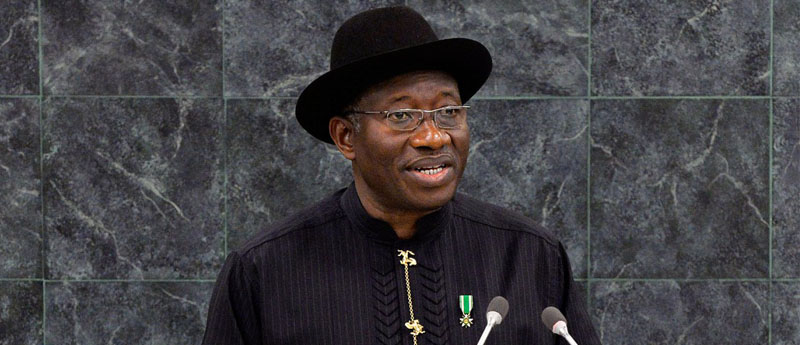 Jonathan Unveils National Identity Card