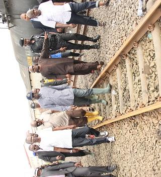babatunde Fashola on Railway maintenance