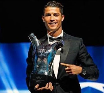 Cristiano Ronaldo Named Best Player In Europe