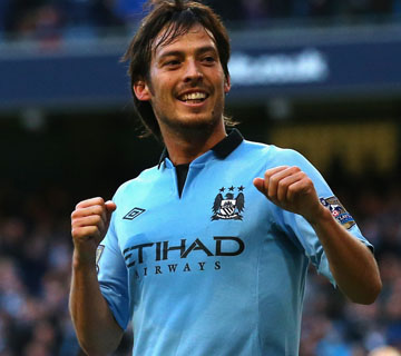 David Silva Signs New Five Year Deal With Manchester City