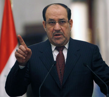 Iraqi Prime Minister Accuses President Of Violating Constitution