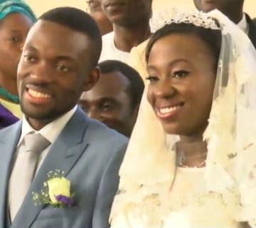 Jessica Akande And Samuel Adedire Walk Down The Aisle