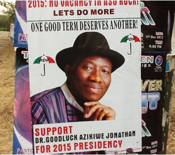 Presidency Says Not Behind Jonathan Posters, Jingles