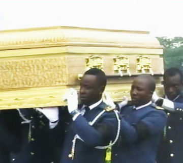 Nigerian Air Force Buries Pilot Who Died In Bama, Borno State