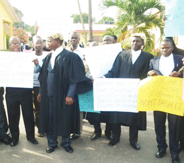 Ondo Judicial Workers Begin Indefinite Strike