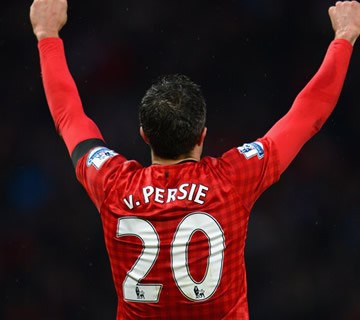 Van Persie Tops Premier League Shirt Sale For 2013/14 Season