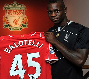 Liverpool Sign Balotelli For  £16m