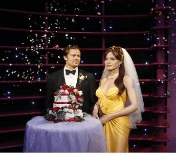 Brad Pitt And Angelina Jolie Quietly Say 'I Do'