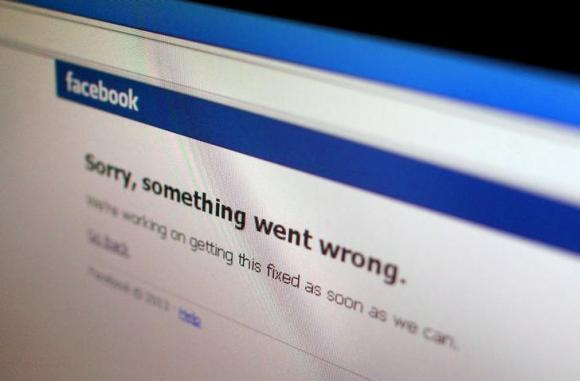 Facebook's Service Disrupted For Some Users