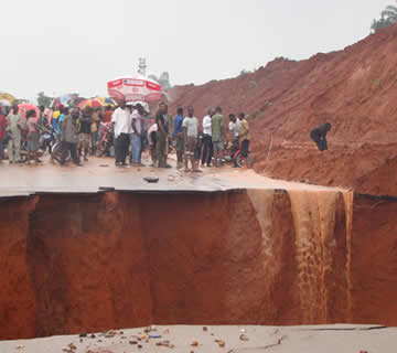 Imo State Government Embarks On Control Of Gully Erosion
