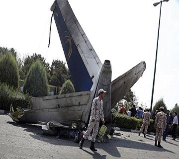 At least 39 Passengers Die In Iranian Plane Crash