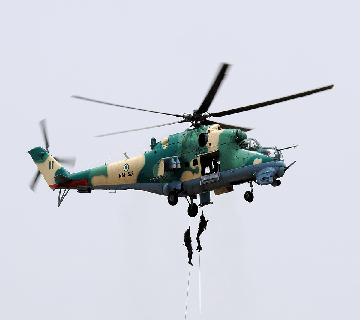 Air Force Jets Bomb Boko Haram's Artillery In Sambisa