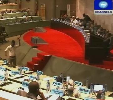 ECOWAS commission meeting