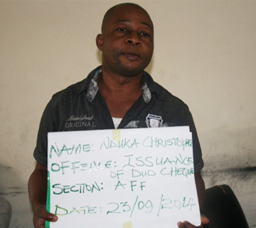 EFCC Arraigns Man for Issuance Of Dud Cheque