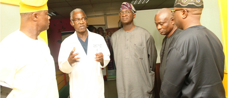 Ebola: Fashola Visits As First Consultants Hospital Reopens