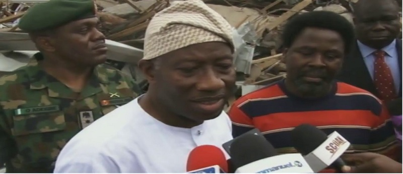 Synagogue Building: Jonathan Promises To Investigate Cause Of Collapse