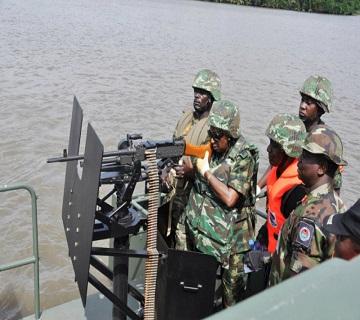 Maritime Crime: FG Partners EU On Military Training