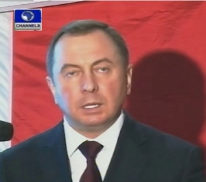 Vladimir Makei, Belarus Foreign Affairs Minister.