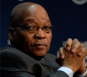 Zuma Visits Flash Flood Victims