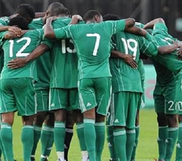 Super Eagles Team Arrive Camp for Cote 'D Ivoire, Sudan Friendlies