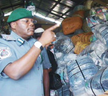 Customs Intercepts Luxurious Bus Carrying 399.5 Kilogram Of Cannabis Sativa