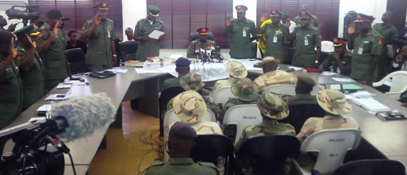 Nigerian Army Charge 97 Officers, Soldiers To General Court Martial