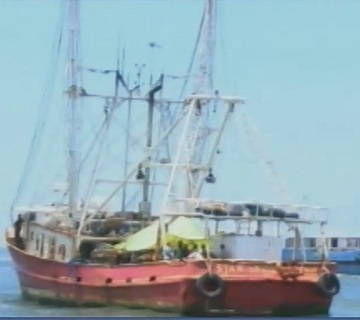 ship used to steal fish.
