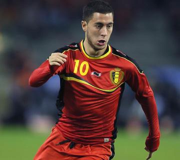 Hazard Injured, To Miss Belgium's Euro Qualifier