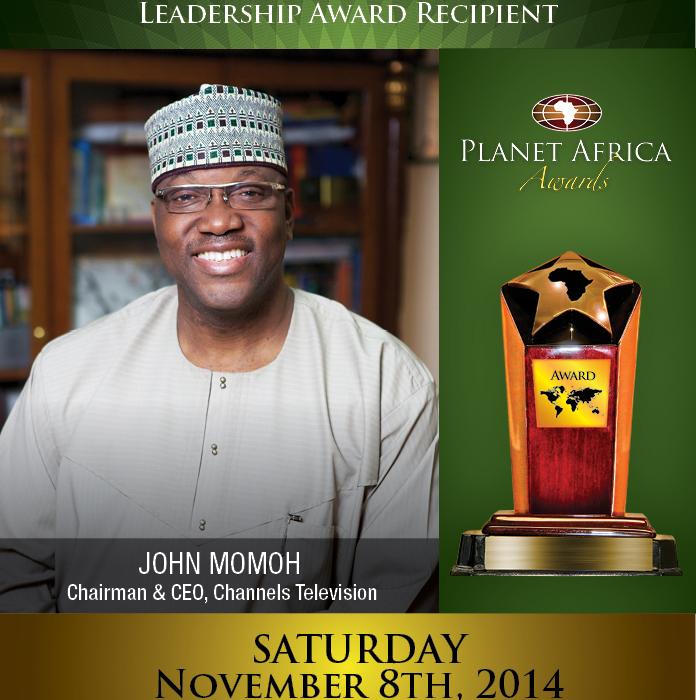 John Momoh To Receive Prestigious Leadership Award In Canada