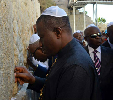 President Jonathan Leaves For Pilgrimage To Israel On Friday