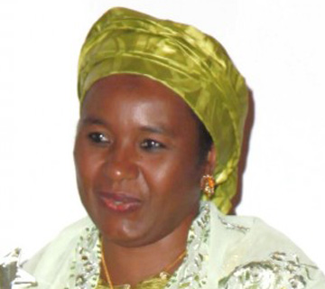 Katsina Governor's Wife Distributes Food Items To Physically Challenged
