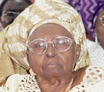 HID At 99: Prominent Nigerians Eulogise Awolowo's Widow