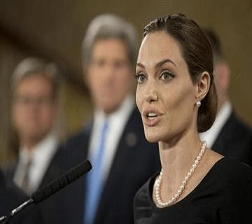 Angelina Jolie Says 'Open' To Politics