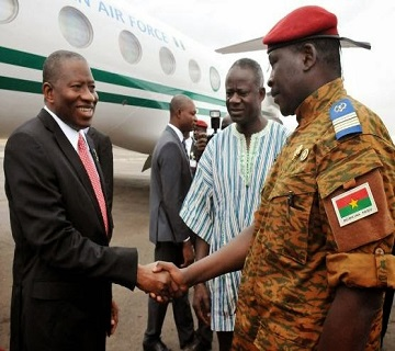 Jonathan, Others Discuss Return To Civil Rule In Burkina Faso
