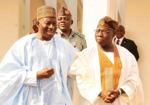 Jonathan and Obasanjo.