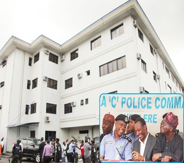 """Fashola Hands Over New Area """"C"""" Police Command Building"""
