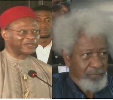 Anyaoku, Soyinka Ask Nigerian Leaders To Tackle Boko Haram Decisively