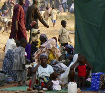 Northern Governors' Wives Donate Relief Items To IDPs In Nasarawa State
