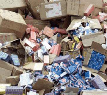 NAFDAC Destroys Illicit Drugs Worth N50 Million In Kaduna