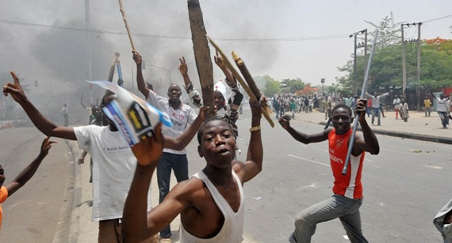 Kafanchan Crisis: Protesters Burn Jema'a LG Chairman's House, Worship Places