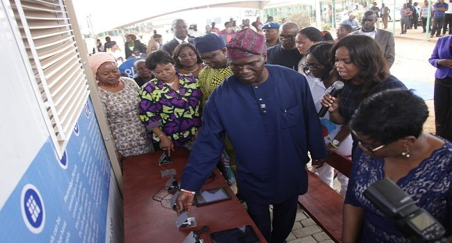 Lagos State Powers Model College With Solar Energy