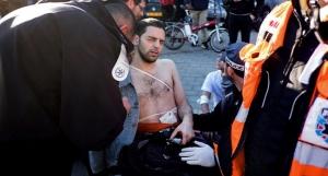 TOPSHOTS-ISRAEL-PALESTINIAN-CONFLICT-STABBING-TEL AVIV