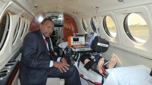 Kenyatta Air ambulance