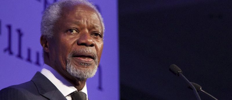 Kofi Annan Urges Nigerian Politicians To Shun Selfish Political Interests