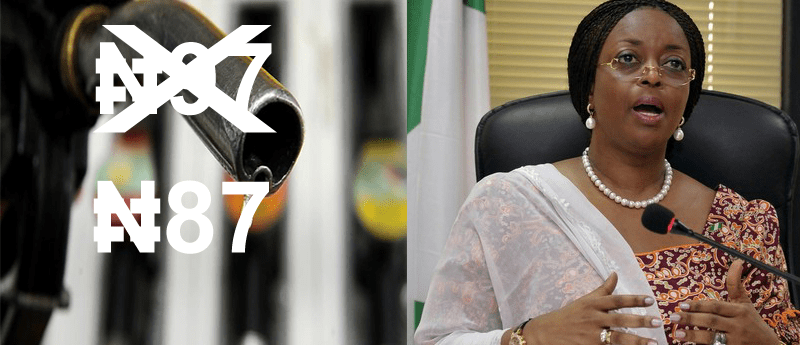 FG Reduces Petrol Pump Price From N97 To N87