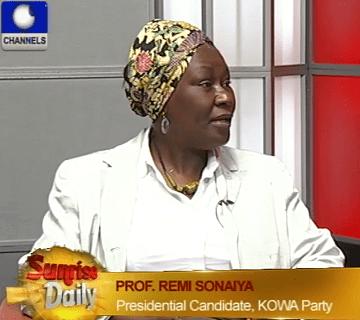Ordinary Citiziens Like Me Can Be President Too – Sonaiya
