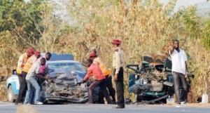 Accident, Lagos - Ibadan